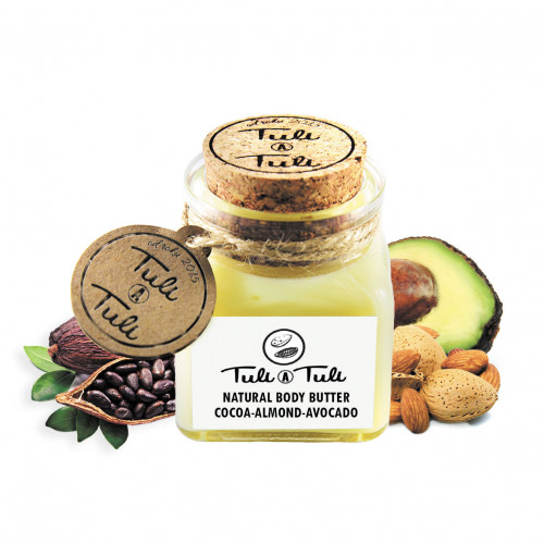 Natural Body Butter Cocoa-Almond-Avocado